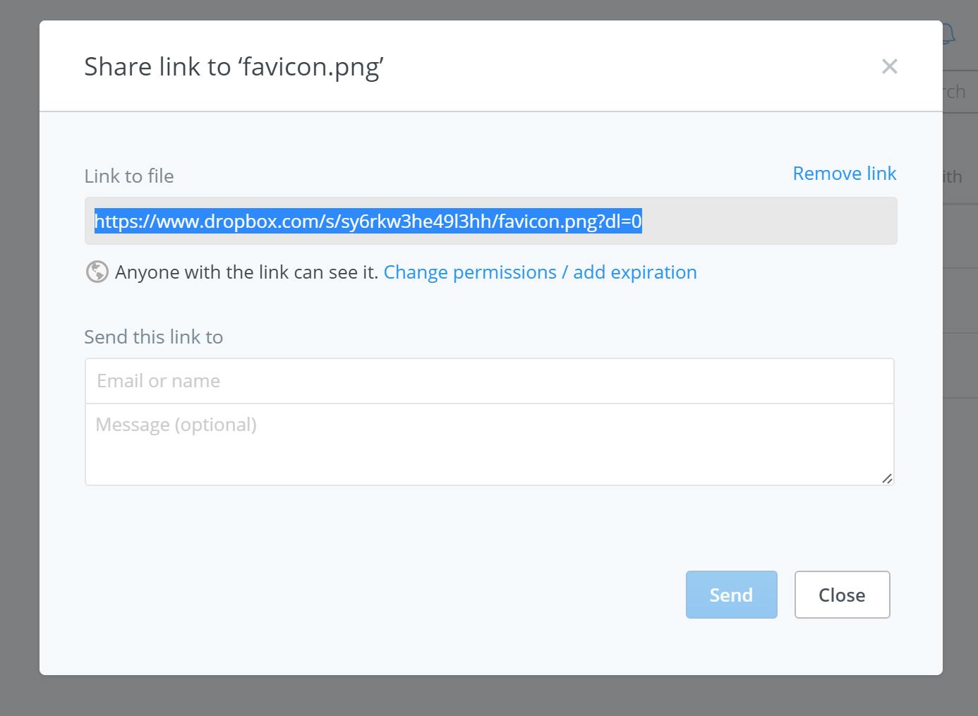 Shareable Link